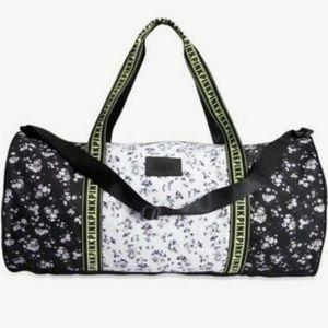 PINK Victoria's Secret Colorblock Large Duffle Bag